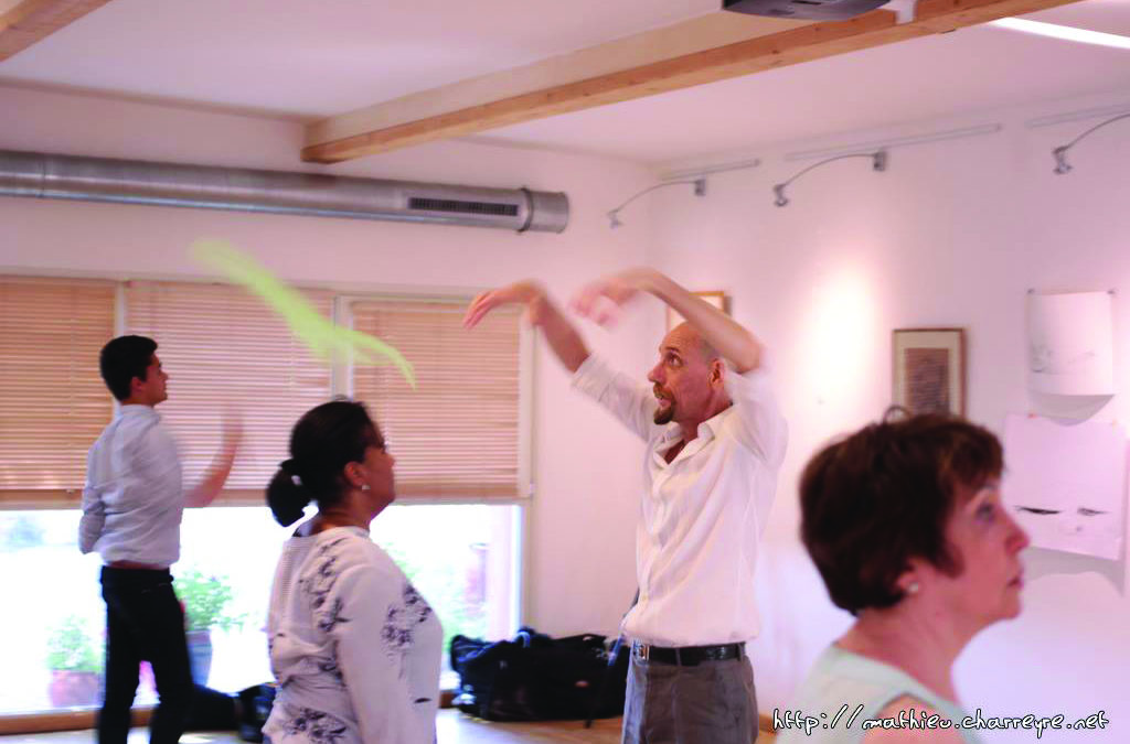 Nouvelle session de Formation à la pratique de La Jongleriethérapie®…!! Module 1 (foulards)